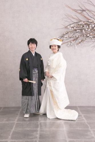 和装で素敵に 婚礼撮影