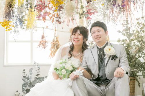 素敵な笑顔で 婚礼撮影